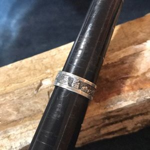 Native American Story Teller Ring